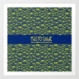#ILoveMasterGuideClub Art Print
