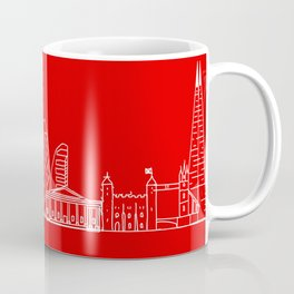 Red London Coffee Mug