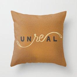 Unreal Throw Pillow