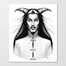 Devil Man Canvas Print