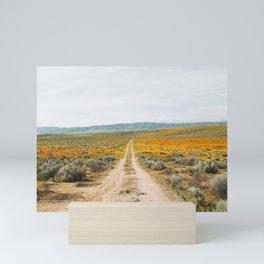 Road Less Traveled Mini Art Print