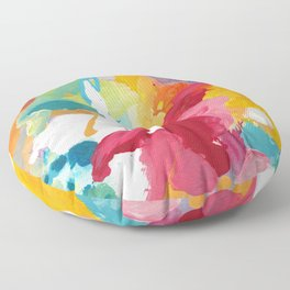 Blooming Dreams Floor Pillow