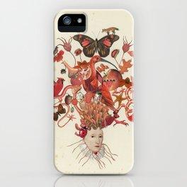 Red Head II iPhone Case