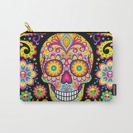 Sugar Skull Art (Spark) Carry-All Pouch