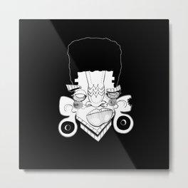 Afro Jack Metal Print