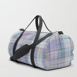 Scottish tartan pattern deconstructed Duffle Bag