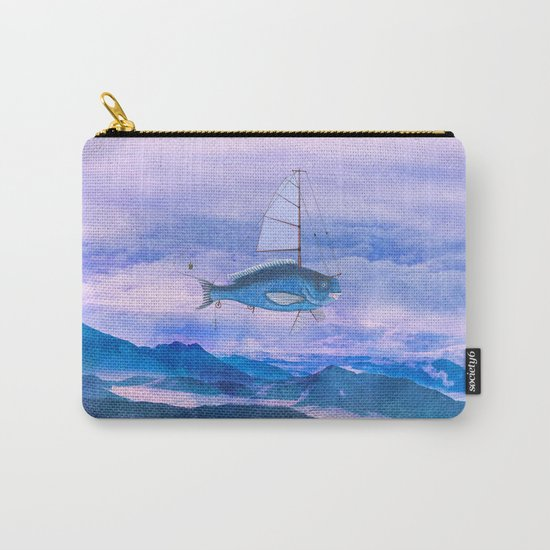I want to fly II Carry-All Pouch