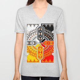 The Four Directions Unisex V-Neck