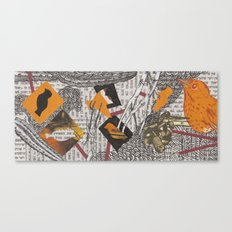 Feygelakh פייגעלאך Canvas Print