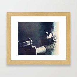 Hardboiled Fiction Framed Art Print