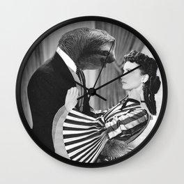 Sloth with Rossella O'Hara Wall Clock
