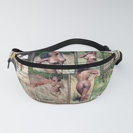 Harley Collage Fanny Pack