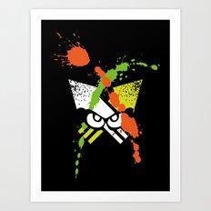Splatoon - Turf Wars 1 Art Print