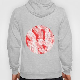 Pink feathers Hoody