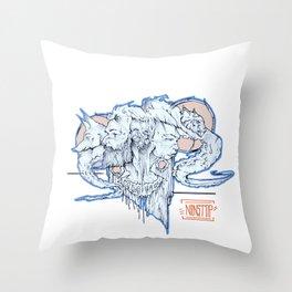 wild love Throw Pillow