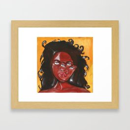 Mente Confusa Framed Art Print