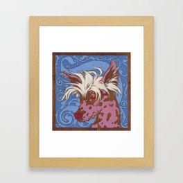 Chinese Crested Framed Art Print