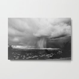 Rain Showers, Arches National Park Metal Print
