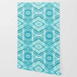 Abstract Marble - Teal Turquoise Wallpaper