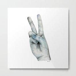 Hand No.4 Metal Print