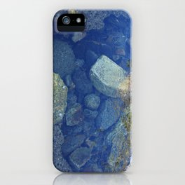 Rocks Under Water I iPhone Case