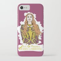 lannister iPhone & iPod Cases featuring Cersei by JessicaJaneIllustration