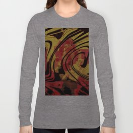 Her Plastered Insouciance  Long Sleeve T-shirt