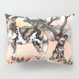 African Wild Dogs Pillow Sham