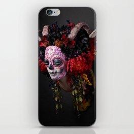 Midnight Muertita Harvest iPhone Skin