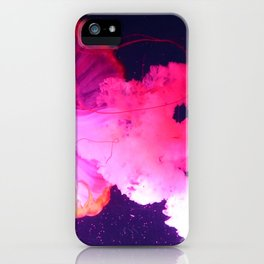 Pink Jellyfish iPhone Case