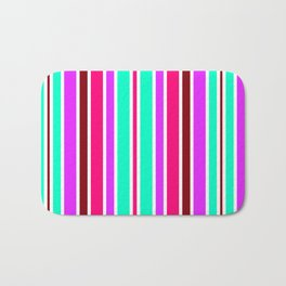 Simply Candy Stripe Bath Mat
