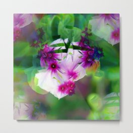 Growth and movement, or especially when you're not looking, 1. Metal Print