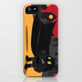 Urban monster Bat_man iPhone Case