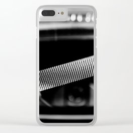 WHAT A DIFFERENCE A SNARE MAKES Clear iPhone Case