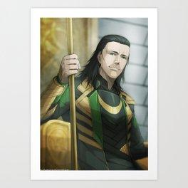 Thor 2 - Loki Print Art Print