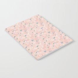 Wild Blueberries (pink) Notebook
