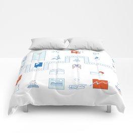 Casa de playa Comforters