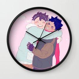 tiny iwaois Wall Clock