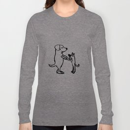 Doggie friends Long Sleeve T-shirt