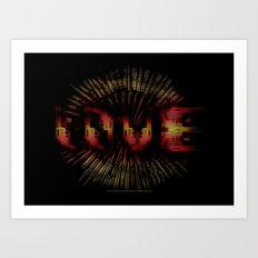 Love - 020 Art Print