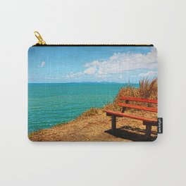 Park Bench On The Headland Carry-All Pouch