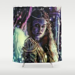 Erinyes: Megaera Shower Curtain