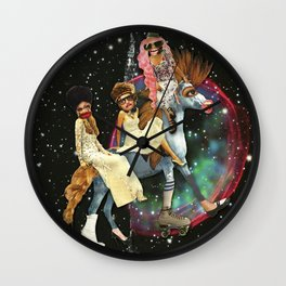 Magic Horseship Wall Clock