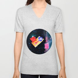 Τhe Universe is our Ηome | Kids Room up to the Space | Cosmos Unisex V-Neck