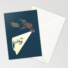 Robot Number 3 and Me Stationery Cards