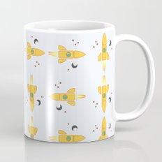 Spaceships pattern Coffee Mug