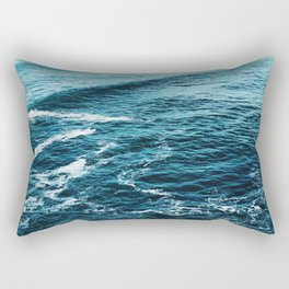 Zumaia beach, Basque country - Travel photography Rectangular Pillow