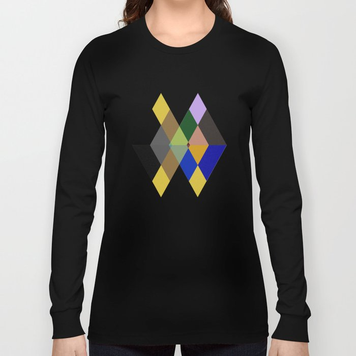 Abstract #712 Long Sleeve T-shirt