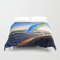 angel Duvet Covers featuring Angel  by Saundra Myles