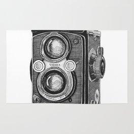 Yashica Vintage Camera Rug